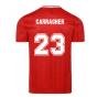 Score Draw Liverpool FC 1989 Retro Football Shirt (CARRAGHER 23)