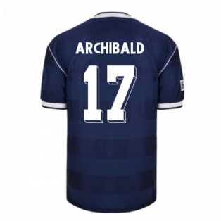 Score Draw Scotland 1986 Retro Football Shirt (Archibald 17)