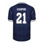 Score Draw Scotland 1986 Retro Football Shirt (Cooper 21)
