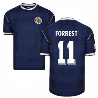 Score Draw Scotland 1986 Retro Football Shirt (Forrest 11)