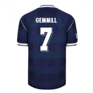 Score Draw Scotland 1986 Retro Football Shirt (GEMMILL 7)