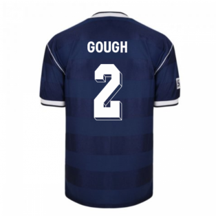 Score Draw Scotland 1986 Retro Football Shirt (Gough 2)