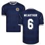 Score Draw Scotland 1986 Retro Football Shirt (McArthur 6)