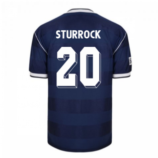 Score Draw Scotland 1986 Retro Football Shirt (Sturrock 20)