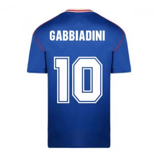 Score Draw Sunderland 1990 Away Football Shirt (Gabbiadini 10)