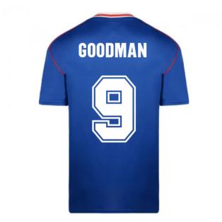 Score Draw Sunderland 1990 Away Football Shirt (Goodman 9)
