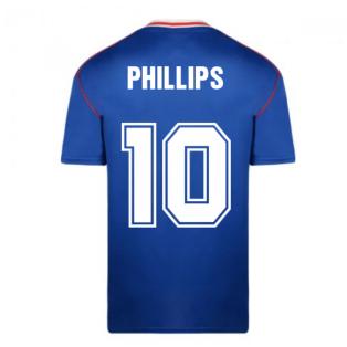 Score Draw Sunderland 1990 Away Football Shirt (Phillips 10)