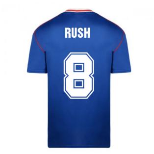 Score Draw Sunderland 1990 Away Football Shirt (Rush 8)