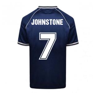 Scotland 1978 World Cup Retro Football Shirt (JOHNSTONE 7)
