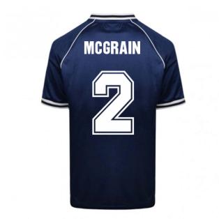 Scotland 1982 World Cup Retro Football Shirt (McGrain 2)