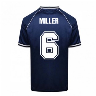 Scotland 1982 World Cup Retro Football Shirt (Miller 6)