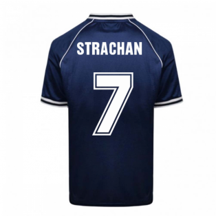 Scotland 1982 World Cup Retro Football Shirt (Strachan 7)