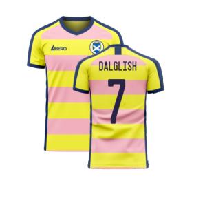 Scotland 2020-2021 Away Concept Football Kit (Libero) (DALGLISH 7)