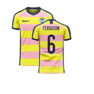 Scotland 2020-2021 Away Concept Football Kit (Libero) (FERGUSON 6)