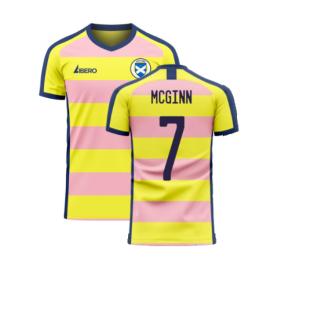 Scotland 2020-2021 Away Concept Football Kit (Libero) (McGinn 7)