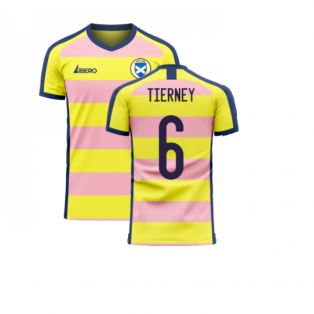 Scotland 2020-2021 Away Concept Football Kit (Libero) (TIERNEY 6)