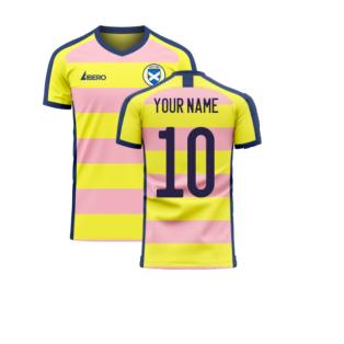 Scotland 2020-2021 Away Concept Football Kit (Libero) (Your Name)