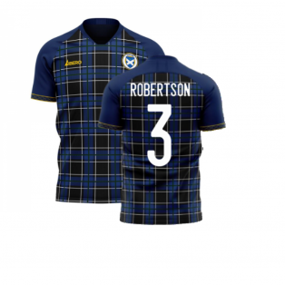 Scotland 2020-2021 Home Concept Football Kit (Libero) (ROBERTSON 3)