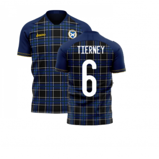 Scotland 2020-2021 Home Concept Football Kit (Libero) (TIERNEY 6)