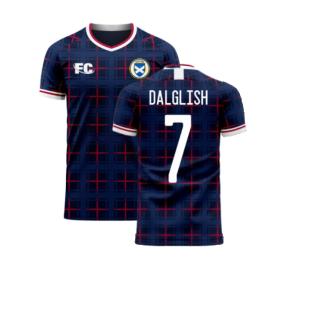 Scotland 2020-2021 Home Concept Shirt (Fans Culture) (DALGLISH 7)