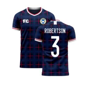 Scotland 2020-2021 Home Concept Shirt (Fans Culture) (ROBERTSON 3)