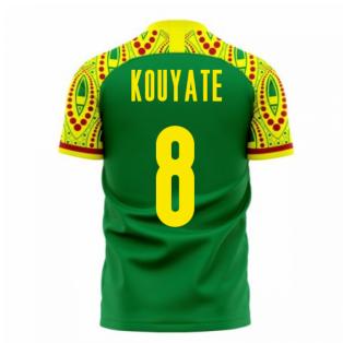 Senegal 2020-2021 Away Concept Football Kit (Libero) (KOUYATE 8)