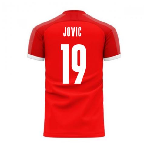 Serbia 2020-2021 Home Concept Football Kit (Libero) (JOVIC 19)
