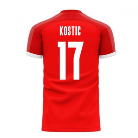 Serbia 2020-2021 Home Concept Football Kit (Libero) (KOSTIC 17)