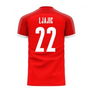 Serbia 2020-2021 Home Concept Football Kit (Libero) (LJAJIC 22)