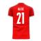 Serbia 2020-2021 Home Concept Football Kit (Libero) (MATIC 21)