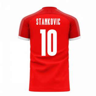 Serbia 2020-2021 Home Concept Football Kit (Libero) (STANKOVIC 10)