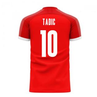 Serbia 2020-2021 Home Concept Football Kit (Libero) (TADIC 10)