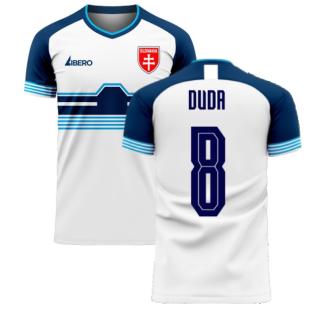 Slovakia 2020-2021 Home Concept Football Kit (Libero) (DUDA 8)