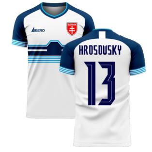 Slovakia 2020-2021 Home Concept Football Kit (Libero) (HROSOVSKY 13)