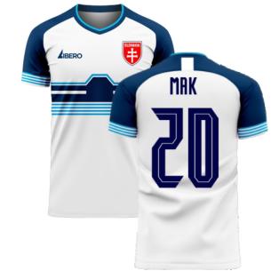 Slovakia 2020-2021 Home Concept Football Kit (Libero) (MAK 20)