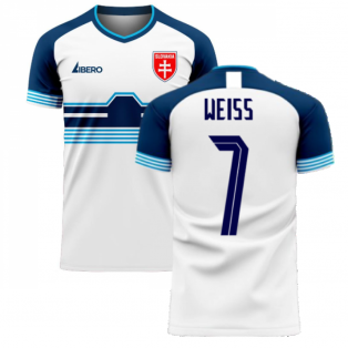 Slovakia 2020-2021 Home Concept Football Kit (Libero) (WEISS 7)