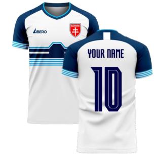 Slovakia 2020-2021 Home Concept Football Kit (Libero) (Your Name)