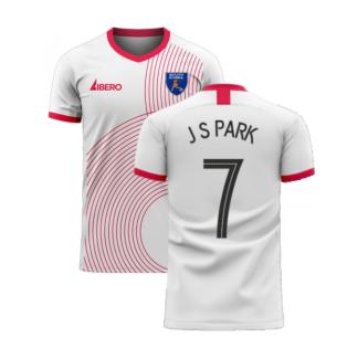 South Korea 2020-2021 Away Concept Football Kit (Libero) (J S PARK 7)