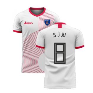 South Korea 2020-2021 Away Concept Football Kit (Libero) (S J JU 8)