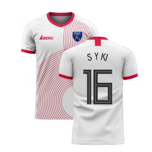 South Korea 2020-2021 Away Concept Football Kit (Libero) (S Y KI 16)