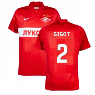 Spartak Moscow 2021-2022 Home Shirt (Red) (GIGOT 2)