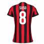 2017-2018 AC Milan Womens Home Shirt (Suso 8)