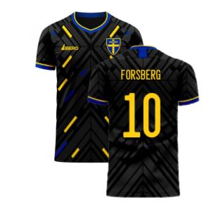 Sweden 2020-2021 Away Concept Football Kit (Libero) (FORSBERG 10)