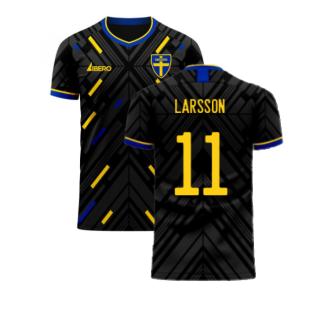 Sweden 2020-2021 Away Concept Football Kit (Libero) (LARSSON 11)