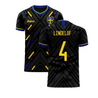 Sweden 2020-2021 Away Concept Football Kit (Libero) (LINDELOF 4)