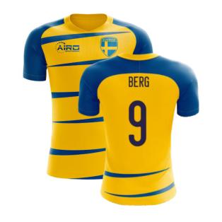 Sweden 2020-2021 Home Concept Football Kit (Airo) (BERG 9)