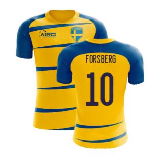 Sweden 2020-2021 Home Concept Football Kit (Airo) (FORSBERG 10)