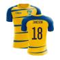 Sweden 2020-2021 Home Concept Football Kit (Airo) (JANSSON 18)