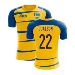 Sweden 2020-2021 Home Concept Football Kit (Airo) (QUAISON 22)
