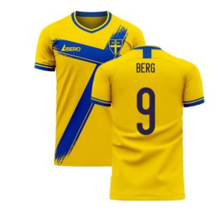 Sweden 2020-2021 Home Concept Football Kit (Libero) (BERG 9)